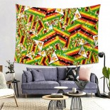 Zimbabwe Hanging Decoration Tapestries sofa covers,80*60inch,Polyester.