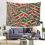 Suriname Hanging Decoration Tapestries beach throws,80*60inch,Polyester.