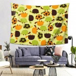 Cute Green Hanging Decoration Tapestries wall hangings,80*60inch,Polyester.